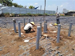 GEO SCIENCE succeed to provide Geogrid Elongation Monitoring system in Ho Chi Minh city project